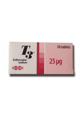 T3 Uni-Pharma, Greece 25mcg