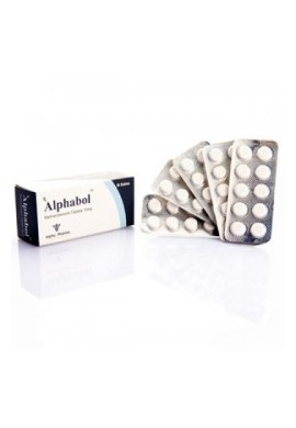 Alphabol - Dianabol tablet 50 tab / box / 10 mg