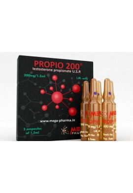 PROPIO – [TESTOSTERONE PROPIONATE] MEGA PHARMA 200mg