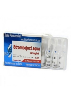 Strombaject Aqua Balkan Pharmaceuticals 100mg