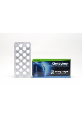 Clenbuterol 20 μg/tabs - Sterling Knight